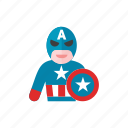 america, captain icon