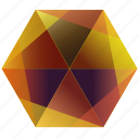 purple, yellow, autumn, snapchat, fall, orange, hexagon icon