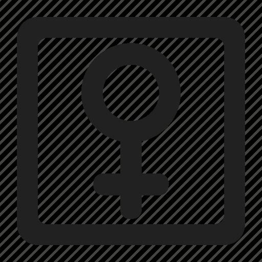 female, gender, person, profile, sex, user, women icon