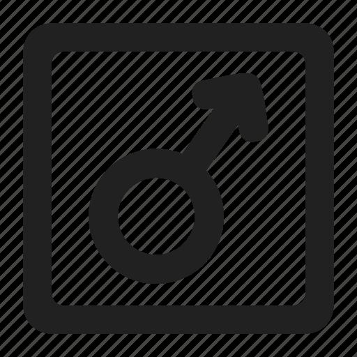 arrow, avatar, gender, male, man, person, sex icon