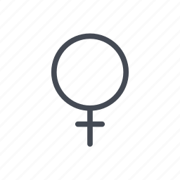 female, gender, girl, woman icon