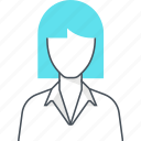 avatar, employee, female, woman
