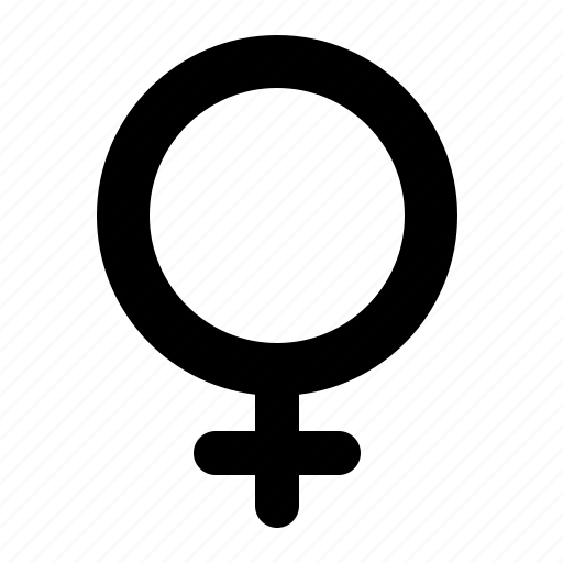 female, gender, girl, sign, symbol, watchkit, woman icon
