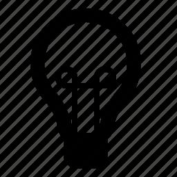 bright, bulb, idea, insight, light, lightbulb, watchkit icon