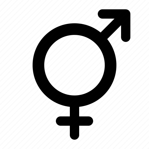 female, gender, male, metrosexual, symbol, transgender, watchkit icon
