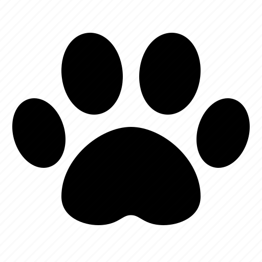 dog, paw, pawprint, print, track, tracking, watchkit icon