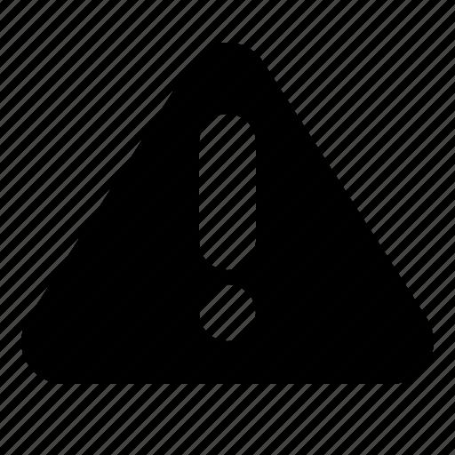 alert, caution, danger, error, sign, warning, watchkit icon