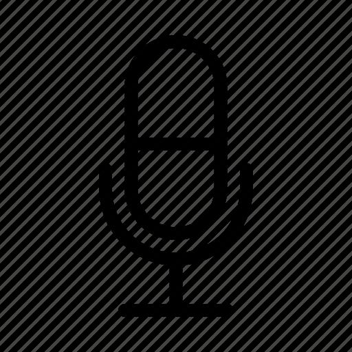 audio, mic, recording, speak, voice icon