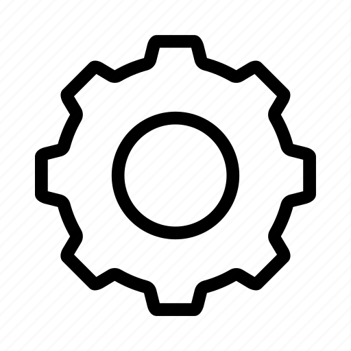 control, gear, setting, system icon