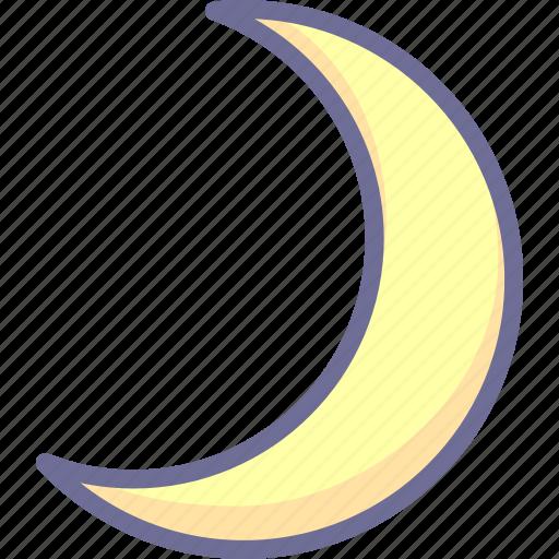 moon, night, sleep icon