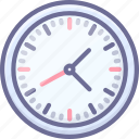 clock, time, zone icon