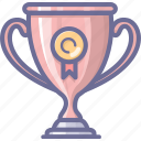 achievement, awards, premium, trophy icon