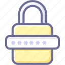 encryption, lock, password, protection, security icon