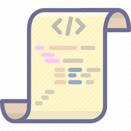 code, development, javascript, js, script icon