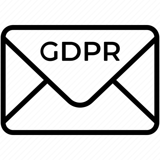 email, eu, gdpr, letter, message, secure, security icon icon