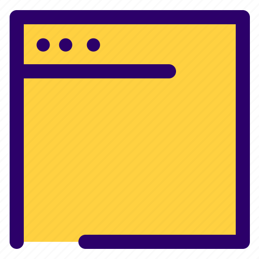 browser, computer, desktop, window icon