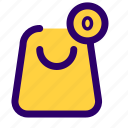 bag, basket, cart, e commerce, items, shopping icon