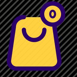 bag, basket, cart, e commerce, items, shopping icon