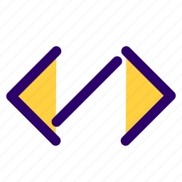 brakets, code, coding, computer icon