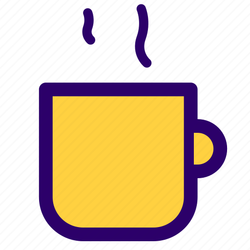 coffee, cup, glass, hot, tea icon