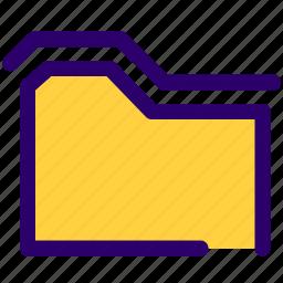 computer, folder, folders, softwares, ui, website icon