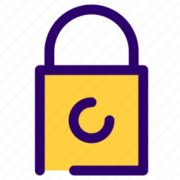 lock, login, password, protected, secure, unlock icon