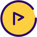 media, music, play, song, video icon