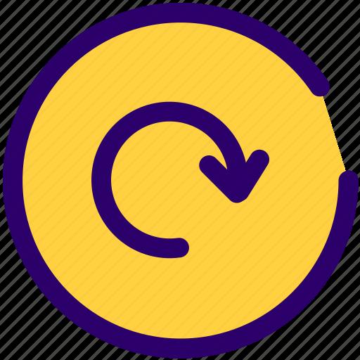 load, load data, refresh, reverse, website icon