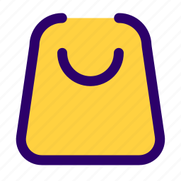bag, cart, e commerce, items, shopping icon