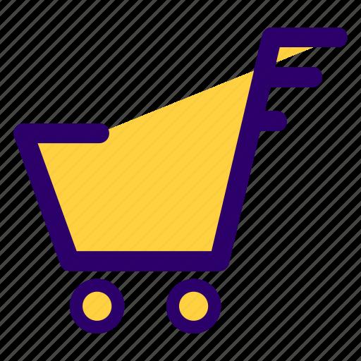 bag, cart, e commerce, online, shop, shopping, website icon