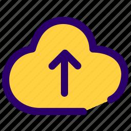 add cloud, cloud, upload, upload cloud icon