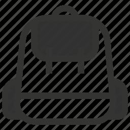adventure, bag icon