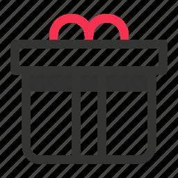 box, gift, present, xmas icon