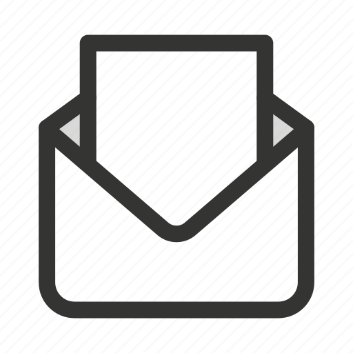 email, envelope, letter, mail, read icon