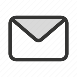 email, envelope, mail, message, unread icon