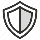 shield, security, protection icon