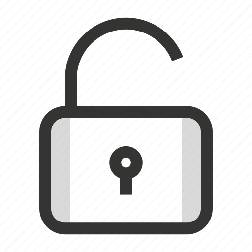 lock, password, unlock icon
