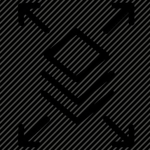 allrounder, flexi, flexible, icon icon