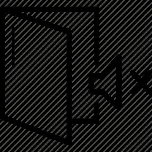 icon, noiseproof, personalroom, privateroom, soundproof icon