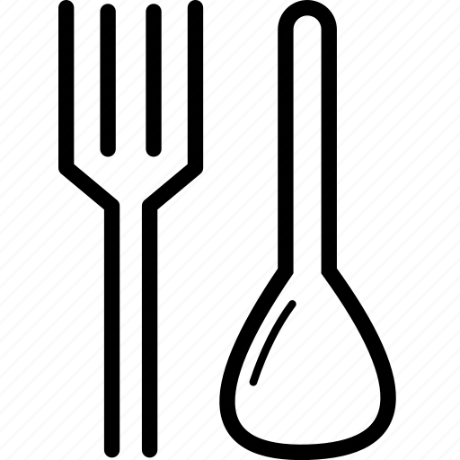 cafeteria, fork, icon, kitchen, spoon icon