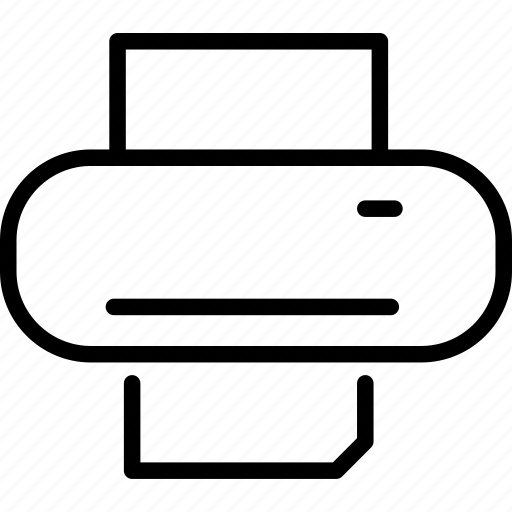 businessprinter, icon, print, printer icon
