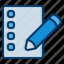 edit, pencil, pen, document, contract, file, write
