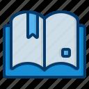 open, book, books, study, reading, library, literature