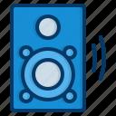 speaker, subwoofer, woofer, loudspeaker, electronics, audio, sound
