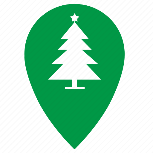 christmas, fir, new, new year, point, pointer, tree icon