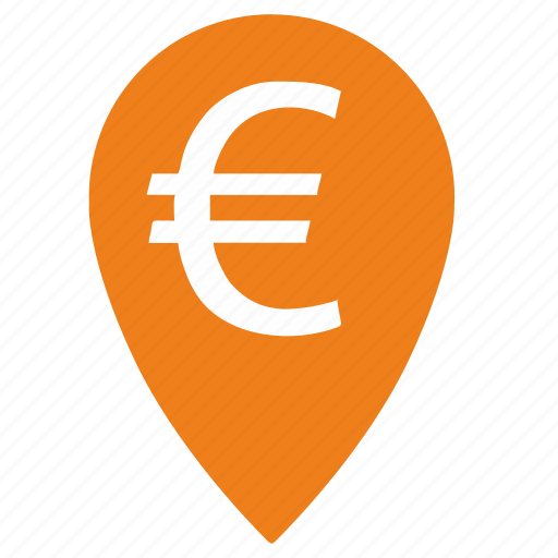 bank, banking, currency, euro, exchange, payment, point icon