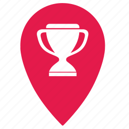 cup, football, geo, location, map, point, soccer icon