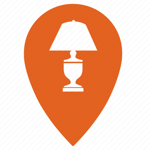 home, lamp, lighting, point, shop, shopping, store icon