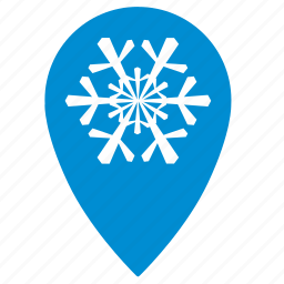 geo, point, snow, snowtime, winter icon