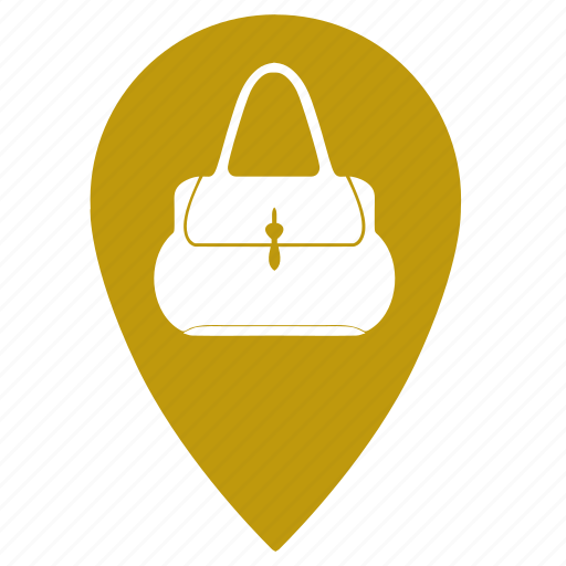 bag, bags, geo, point, shopping, woman icon